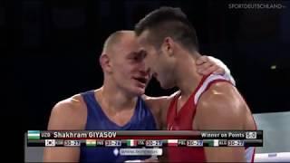 ЧМ-2017 (69kg) Евгений Барабанов (UKR) — Шахрам Гиясов (Узбекистан)