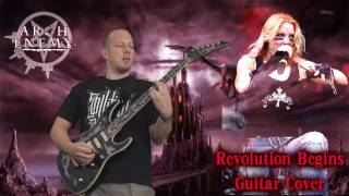Arch Enemy - Revolution Begins - Guitar Cover