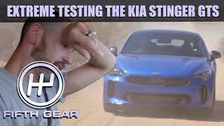 Extreme testing the KIA Stinger at the California  Proving Grounds - The FULL Challenge | Fifth Gear