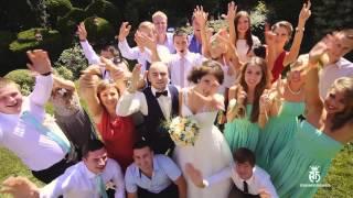 САМАЯ веселая свадьба. Поющий свадебный ролик. Лера и Андрей.