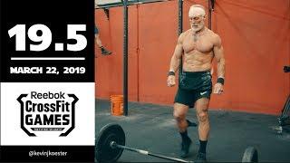 Kevin Koester 19.5 CrossFit Open WOD Full Workout + Recap