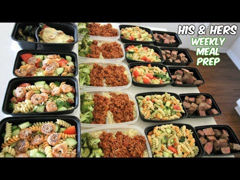 His And Hers Weekly Meal Prep