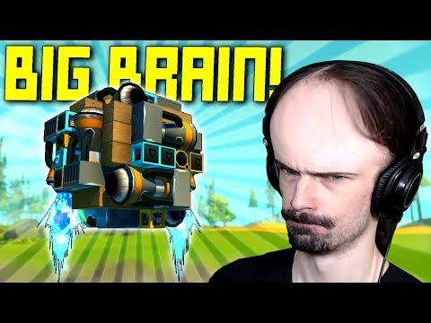 Finding Big Brain Creations To Make Us Feel Stupid... - Scrap Mechanic Workshop Hunters