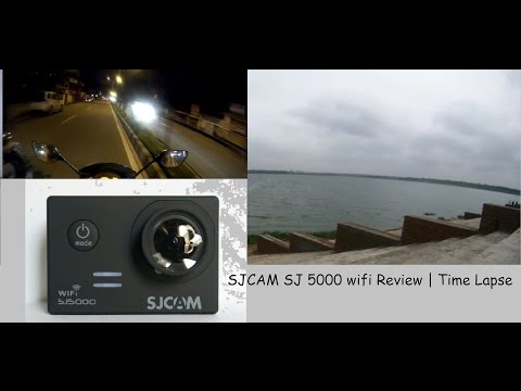 SJCAM SJ5000 wifi (without +) action camera Review | Time lapse