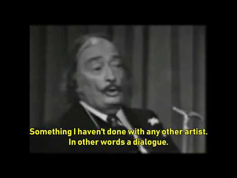 Salvador Dalí talks about Pablo Picasso