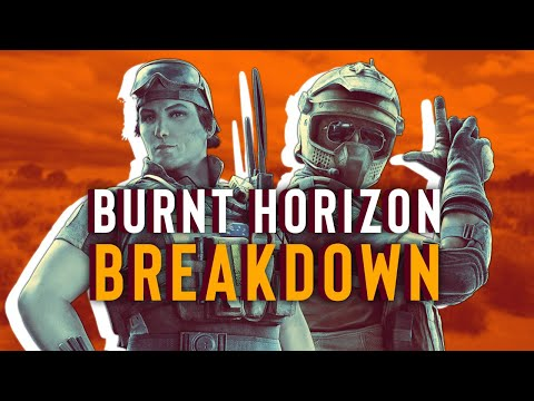Rainbow Six Siege: Burnt Horizon Operators Explained