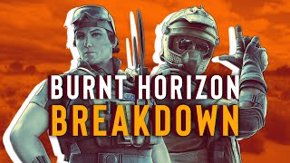 Rainbow Six Siege: Burnt Horizon Operators Explained