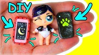 Чехлы для телефона Леди Баг и Супер Кот! DIY для кукол
