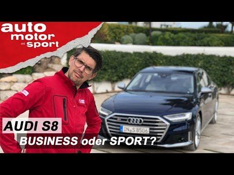 Audi S8 (2019): Dank Otto-Motor ein echter Sportler? – Review/Fahrbericht | auto motor und sport