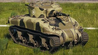 World of Tanks M4 Sherman - 6 Kills 3,1K Damage