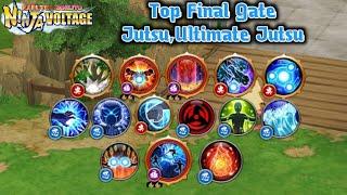 NxB NV: Best Final Gate Jutsu | Ultimate Ex Jutsu