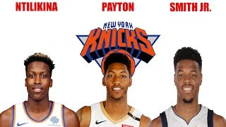 WHO WILL BE THE NEW YORK KNICKS STARTING POINT GUARD?! BREAKDOWN OF POINT GUARD POSITION