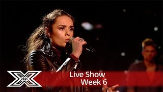 Sam fights to stay in the competition with No More Drama | Results Show | The X Factor UK 2016