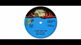 "Don Carlos  - I Love Jah - 7"" - Fire House"