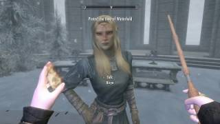 Skyrim SE: School of Witchcraft and Wizardry (Harry Potter Mod) Ep 8 ~ OP Team of Aurors!!