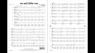 We Will Rock You by Brian May/arr. Paul Lavender