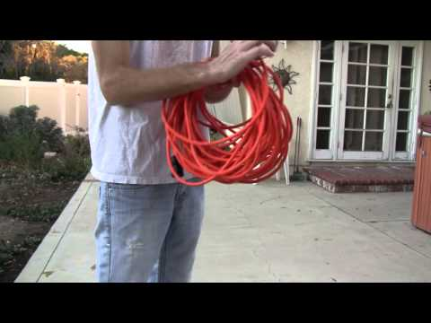 Coil Your Extension Cords Like A Roadie With The Over-Under Method