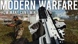 Modern Warfare - How many rounds of Gunfight can I win?