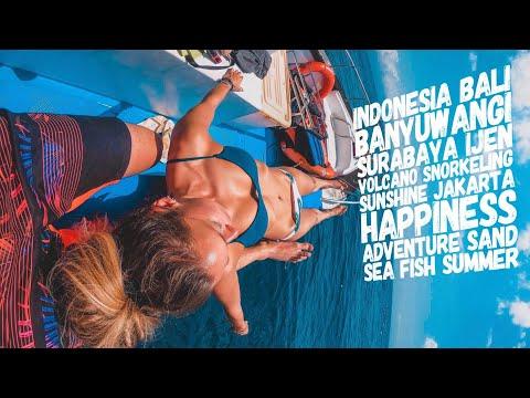 Trip to Indonesia   12 Days   Bali - Banyuwangi - Ijen Volcano - Surabaya - Jakarta   Music video