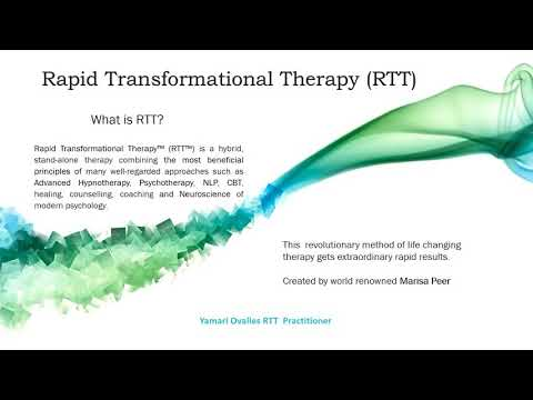 What is RTT (Rapid Transformational Therapy?