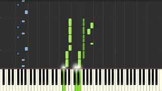 Alice Merton - No Roots  - Piano Tutorial (Synthesia)