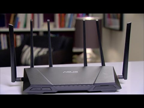 The Asus RT-AC3200 Tri-Band router best suits a crowded home