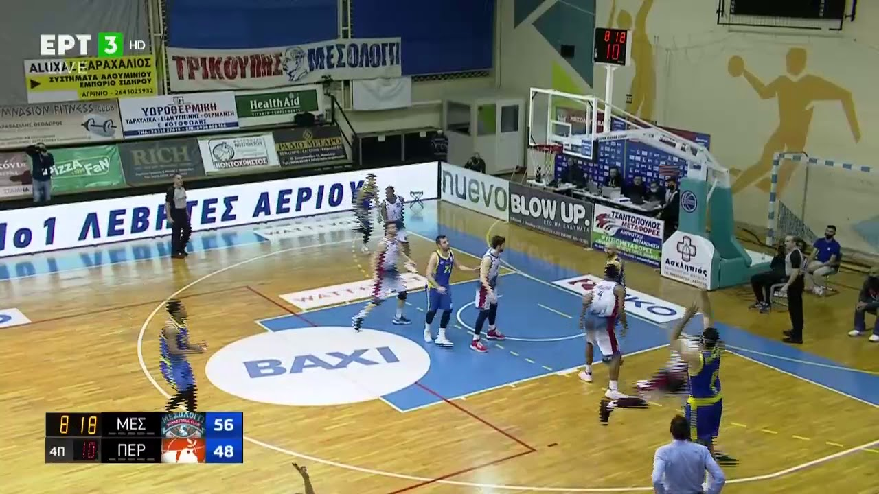 Basket League | Με.. όργια του μασκοφόρου Μπουρούση το Περιστέρι επανέρχεται! | 27/02/2021 | ΕΡΤ