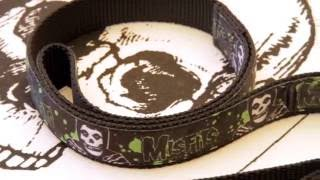 Official Misfits collars leashes for your fiendish pets Available now at Watch the VIDEO: