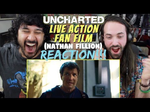 UNCHARTED – Live Action Fan Film (2018) Nathan Fillion – REACTION & REVIEW!!!