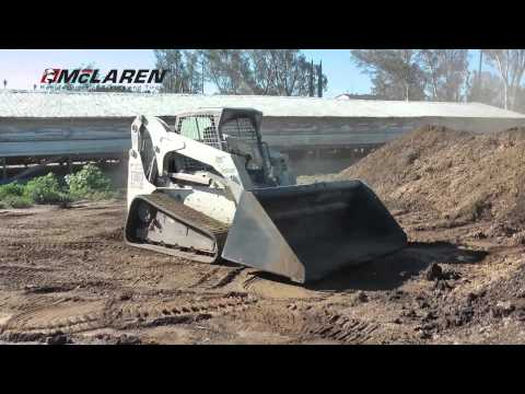 McLaren Track Loader Tracks on Bobcat T300