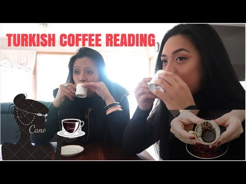 TURKISH COFFEE READING! (WE GOT OUR FUTURE READ!)