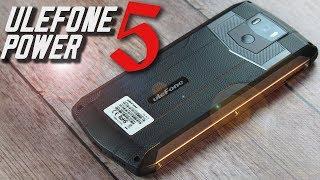 Смартфон Ulefone Power 5 Black от компании Cthp - видео 1