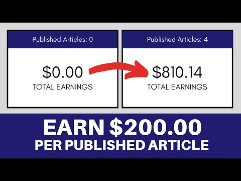 7 Websites That Will Pay You Up To $200 To Write Articles Online