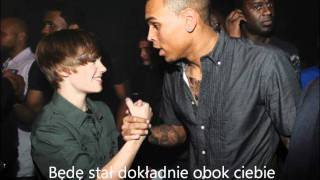 Kadr z teledysku Next 2 You ft. Justin Bieber tekst piosenki Chris Brown