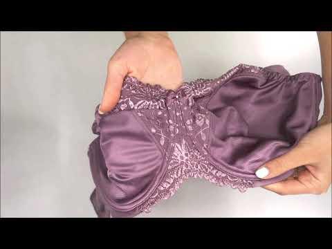 Podprsenka nevyztužená Ladyform Soft W fialová 6400 - Triumph