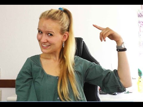 Frisuren selber machen | Magischer Zopf | schnelle Frisur für Mädchen | lange Haare in 2 Minuten