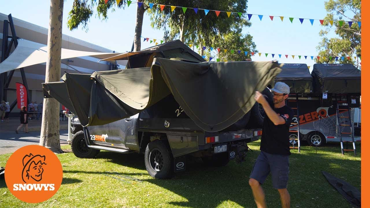 Peregrine 270 Driver Side Awning with LST