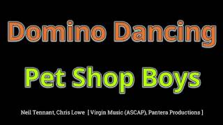 Domino Dancing   Pet Shop Boys (HD, 320kbps) Wlyrics