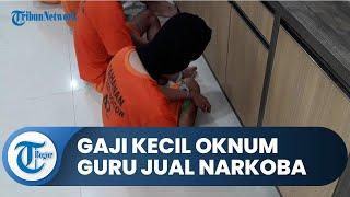 Alasan Gaji Kecil, Oknum Guru Honorer di Bogor Nyambi Jual Narkoba, Polisi Sita 35 Klip Isi Sabu