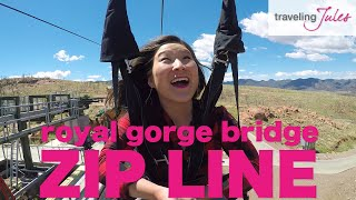 CANON CITY: Royal Gorge Bridge Cloudscraper Zip Line