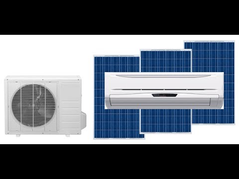 Solar Air Conditioner in Ahmedabad, सोलर एयर