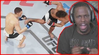 DOES THAT MAKE ME A DIRTBAG?? - UFC 2 Gameplay w/ Twitch Subs Pt.2