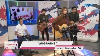 MOONSTAR88 - MIGRAINE (NET25 LETTERS AND MUSIC)