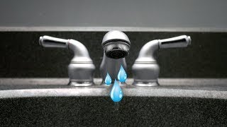 How to fix a leaking faucet: Moen 1224