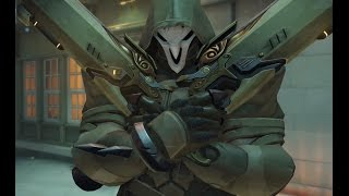 Overwatch - some Reaper plays