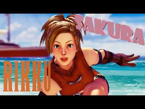 Street Fighter 5 mods Sakura Kimono Alt - смотреть онлайн на