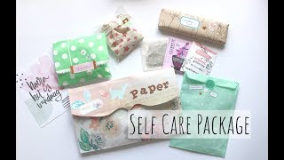 Making And Unboxing A Self Care Package | Swap