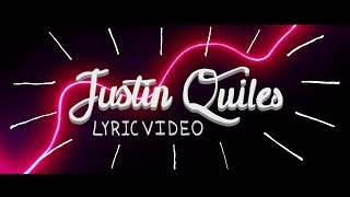 Fruta Prohibida (Letra) - Justin Quiles (Video)