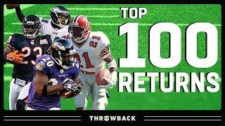 Top 100 Returns in NFL History!