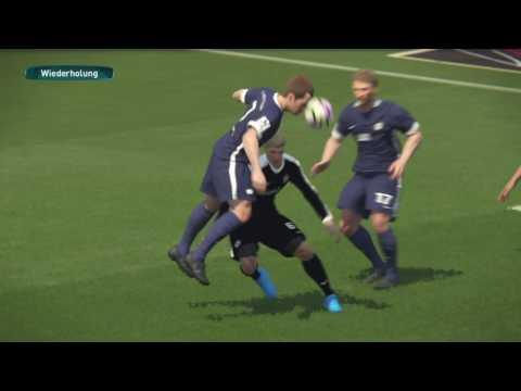 Pro Evolution Soccer 2017 SV 07 ELVERSBERG Gegen FC NOETTINGEN